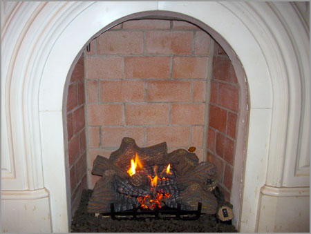 Gas Log Fireplace Cleaning Fireplaces